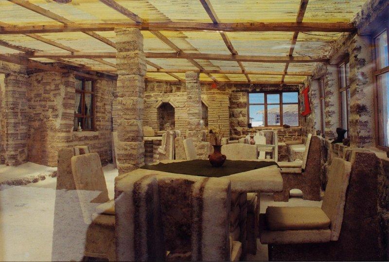 Inside the Salt Hotel