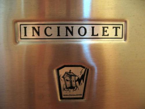 Incinolet logo on toilet